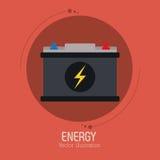 Save energy design Royalty Free Stock Image