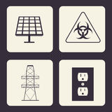 Save Energy design Royalty Free Stock Photos
