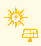 Save Energy design Royalty Free Stock Images