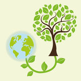 Save Energy design Stock Image