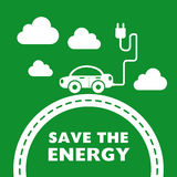 Save the energy Royalty Free Stock Photos