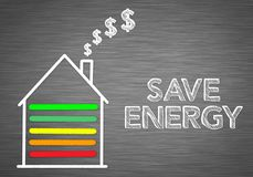 Save Energy at Home Royalty Free Stock Photo