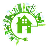 Save energy icon. This is save energy icon design.  file Stock Photos
