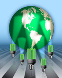 Save Energy Illustration Stock Photo