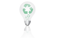 Save Energy Lightbulb. Alternative energy concept/save energy concept Royalty Free Stock Photography