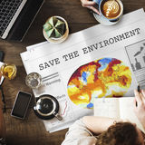 Save Environment Conservation Resources Global Concept Stock Photo