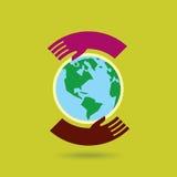 Save environment - creative  Royalty Free Stock Photos