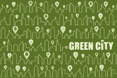 Save environment and green power concept. Royalty Free Stock Images