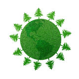 Save the forests Stock Photography