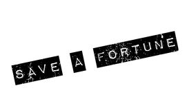 Save A Fortune rubber stamp Royalty Free Stock Photo