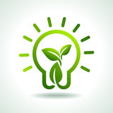 Save green environment idea and concept Stock Photography