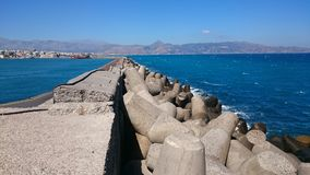 Save Haven. Haven at Iraklio, Crete Royalty Free Stock Image