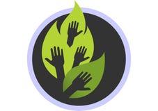 Save jungle exploitation. Logo dsign vector dsign abstract dsign concept Stock Photo