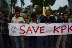 Save KPK for Indonésia Royalty Free Stock Image