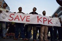 Save KPK for Indonésia Stock Photos