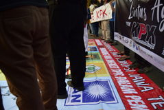 Save KPK for Indonésia Stock Photography