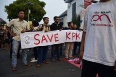 Save KPK for Indonésia Royalty Free Stock Photography