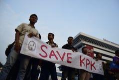 Save KPK for Indonésia Royalty Free Stock Photo