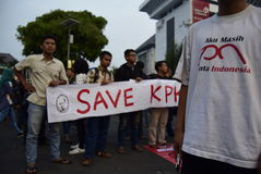 Save kpk for indonesia Royalty Free Stock Image