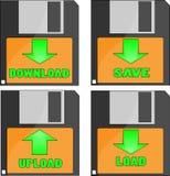 Save load Royalty Free Stock Photos