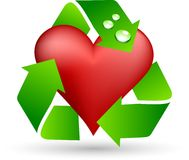 Save love symbol. Stock Photos