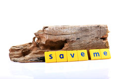 Save me Royalty Free Stock Images
