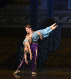 """Save a mermaid- ballet """"One Thousand and One Nights"""" Royalty Free Stock Photography"""