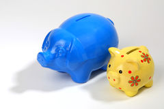 Save money-boxes Royalty Free Stock Photo