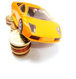 Save money for car Royalty Free Stock Image