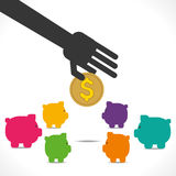 Save money cocnept Stock Image