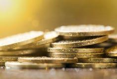Save money coins Stock Photos