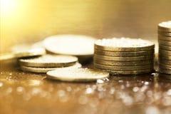 Save money coins Stock Photo