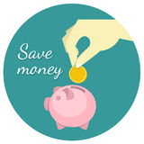 Save Money Concept Stock Photo