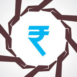 Save money concept - vector illustration. Stock vector Royalty Free Stock Photos