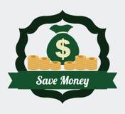 Save money design stock illustration