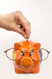 Save money on glasses eyewear. Royalty Free Stock Image