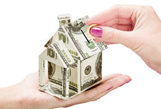 Save Money on a New House Stock Photo