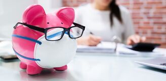 Free Save Money Piggybank And Budgeting Stock Photography - 189287132