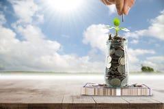 Save money for prepare Stock Image