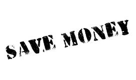 Save Money rubber stamp Stock Image