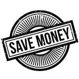 Save Money rubber stamp Royalty Free Stock Image