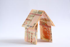 Save money to build home Stock Images