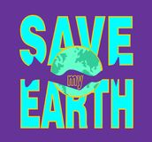 Save my earth. Illustration clipart type vector illustration