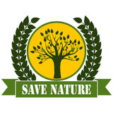 Save Nature Royalty Free Stock Image