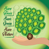 Save nature Stock Photo