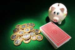 Save Or Gamble Stock Images