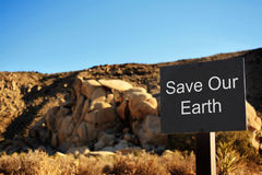 Save our Earth Royalty Free Stock Images