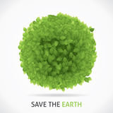 Save Our Earth. Eps10 file Stock Photos