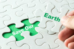 Save our earth Royalty Free Stock Photography