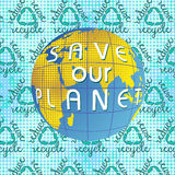 Save our Planet Earth day Royalty Free Stock Images